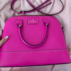 Kate Spade pink shoulder bag tote